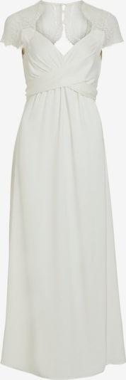 VILA Večerna obleka | bela barva, Prikaz izdelka