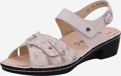 Finn Comfort Sandale in gold / taupe, Produktansicht