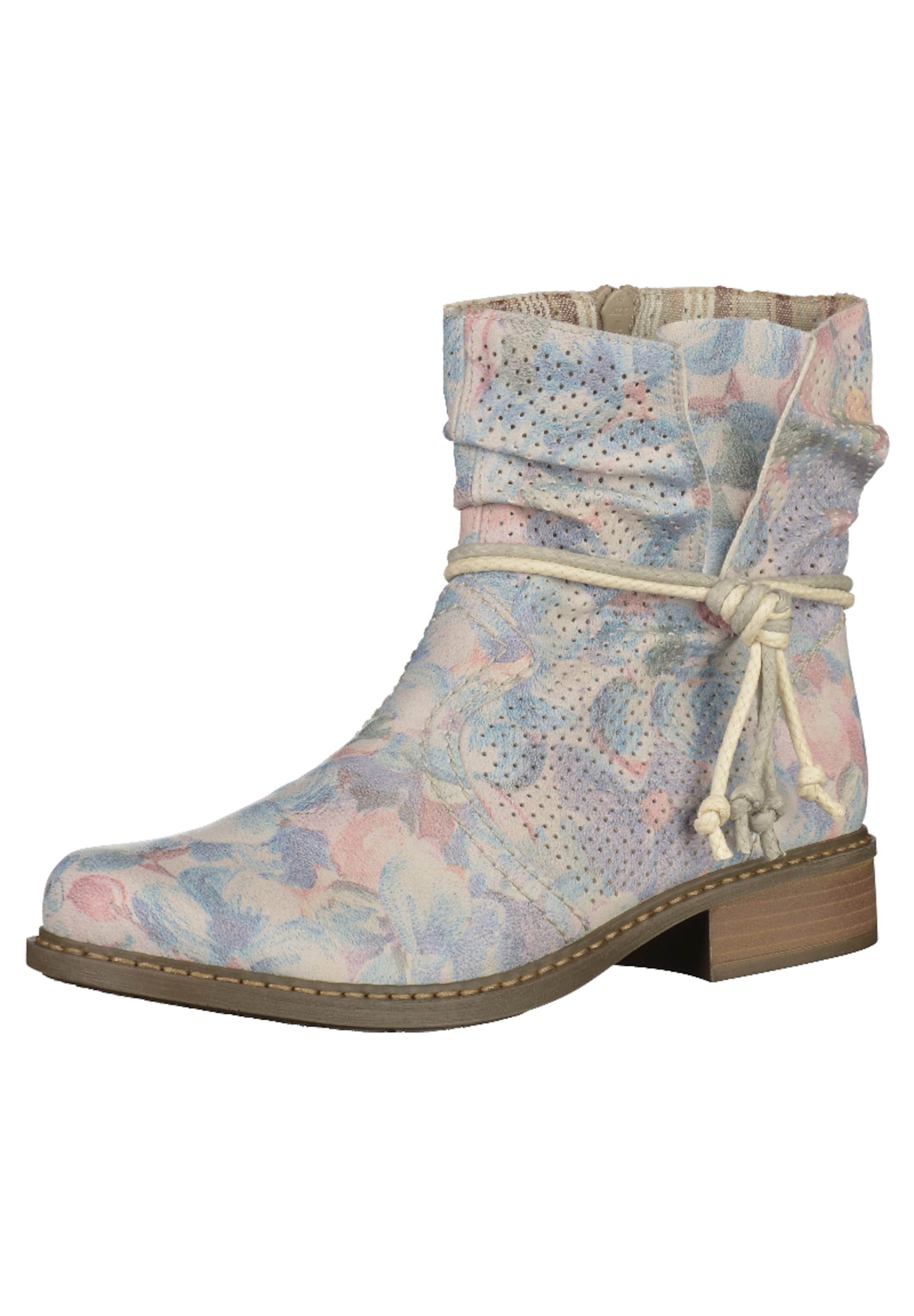 RIEKER Boots mit floralem Print Hohe Qualität