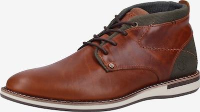 BULLBOXER Buty sznurowane w kolorze brązowy / khaki / białym, Podgląd produktu