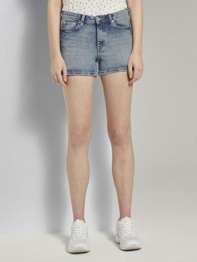 TOM TAILOR DENIM Shorts in blau, Modelansicht