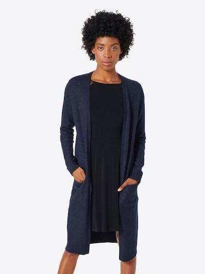 VILA Cardigan 'Ril' en bleu nuit, Vue avec modèle