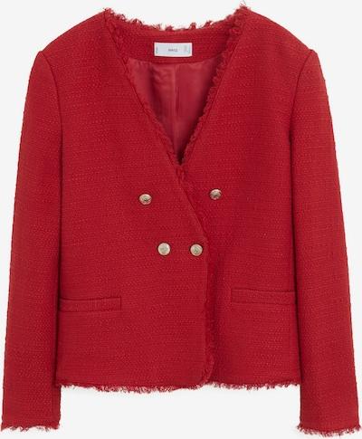 MANGO Blazer 'Americana Rayita' in rot, Produktansicht