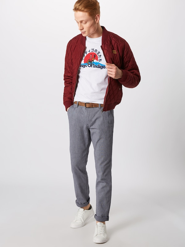 Tom Chino En Pantalon Marine Denim Bleu Tailor dCBoEQrexW