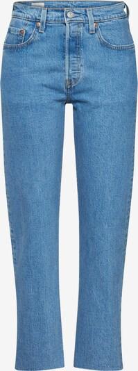 LEVI'S Jeans '501® CROP' in de kleur Blauw denim, Productweergave