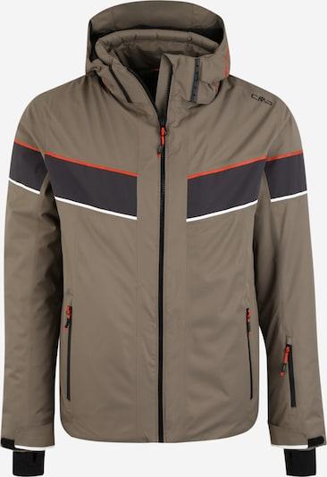 CMP Športna jakna | temno bež barva, Prikaz izdelka