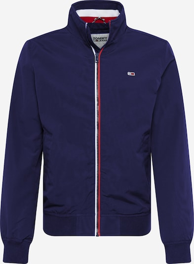 Tommy Jeans Tussenjas 'ESSENTIAL' in de kleur Donkerblauw / Rood / Wit, Productweergave