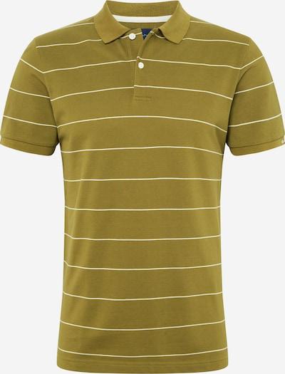 GANT Shirt in oliv / weiß, Produktansicht