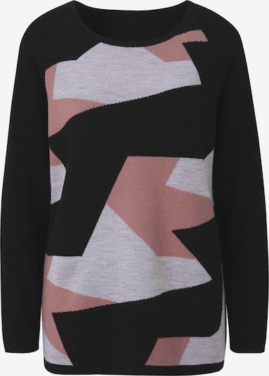 heine Пуловер в сиво / светлочервено / черно, Преглед на продукта