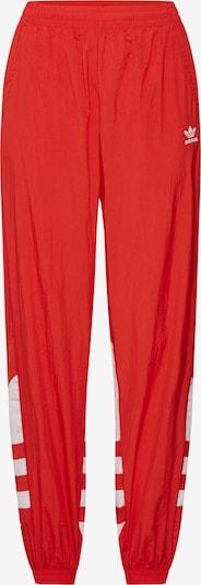 ADIDAS ORIGINALS Hose 'LRG LOGO TP' in rot / weiß, Produktansicht