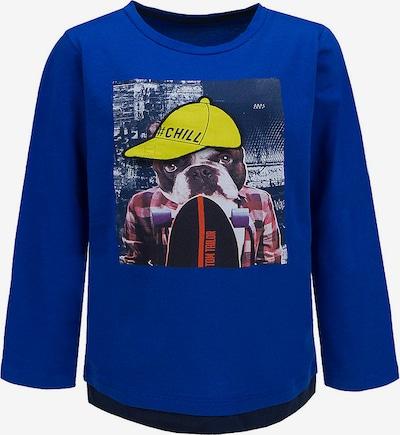 TOM TAILOR Langarmshirt in blau, Produktansicht