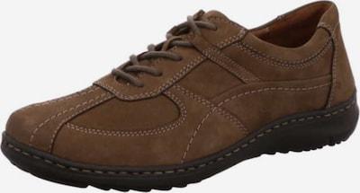 WALDLÄUFER Schuh in braunmeliert, Produktansicht