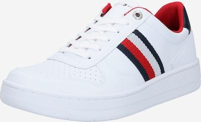 TOMMY HILFIGER Sneakers laag in de kleur Navy / Rood / Wit, Productweergave