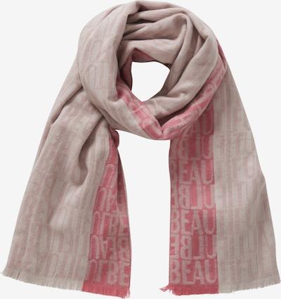 Cartoon Schal in beige / rosé, Produktansicht