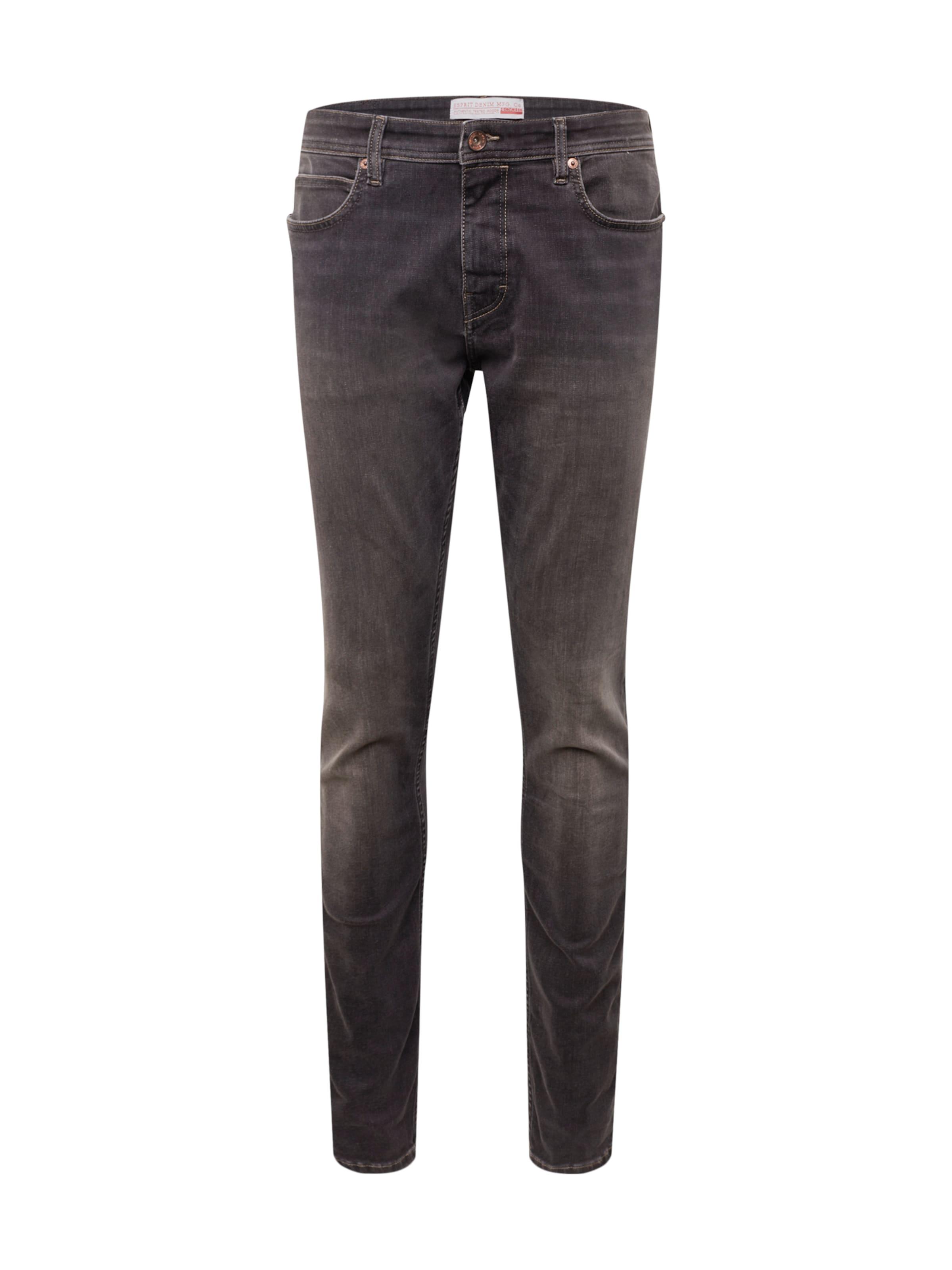 Gris Slim Pants' Denim Esprit 'rcs En Jean Dynami O80knwP