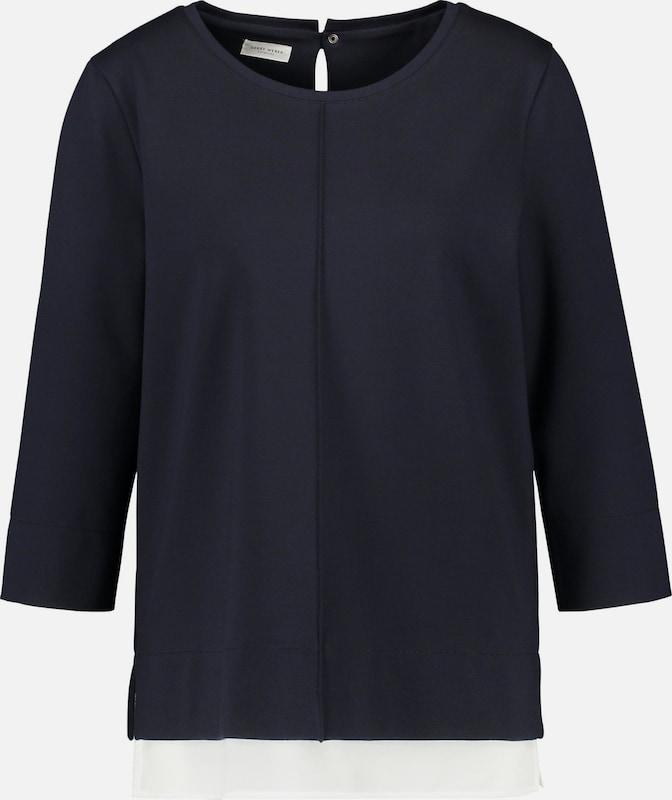 GERRY WEBER WEBER WEBER Shirt in navy   weiß  Mode neue Kleidung cff47f