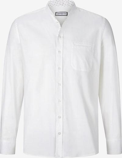 Shirtmaster Overhemd ' Milkshakeboy ' in de kleur Wit: Vooraanzicht
