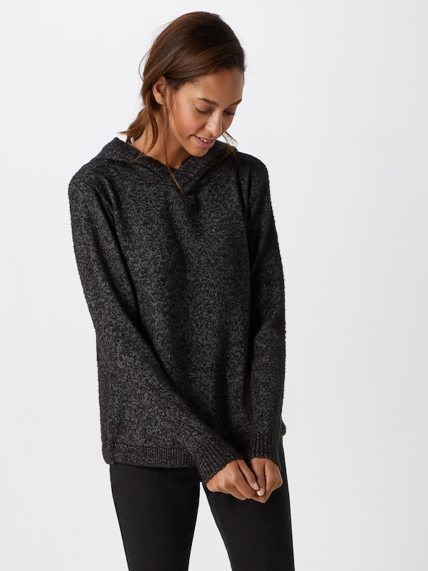 Anthracite over Knitted 'womens Pullover' Sublevel Pull En D9eWHIYE2b