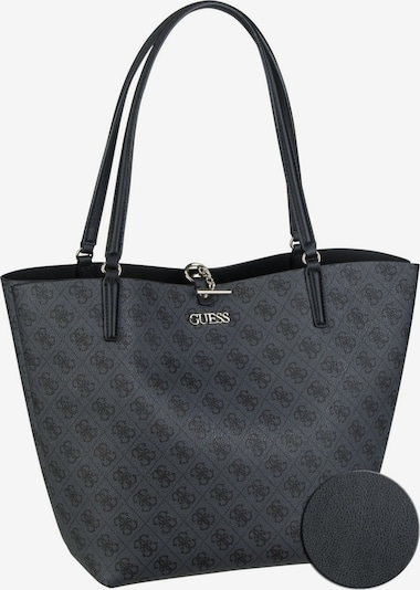 GUESS Shopper 'Alby Toggle Tote' in grau / schwarz, Produktansicht