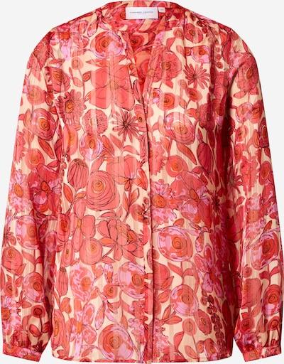 Fabienne Chapot Bluse 'Frida Lou' in beige / pink, Produktansicht