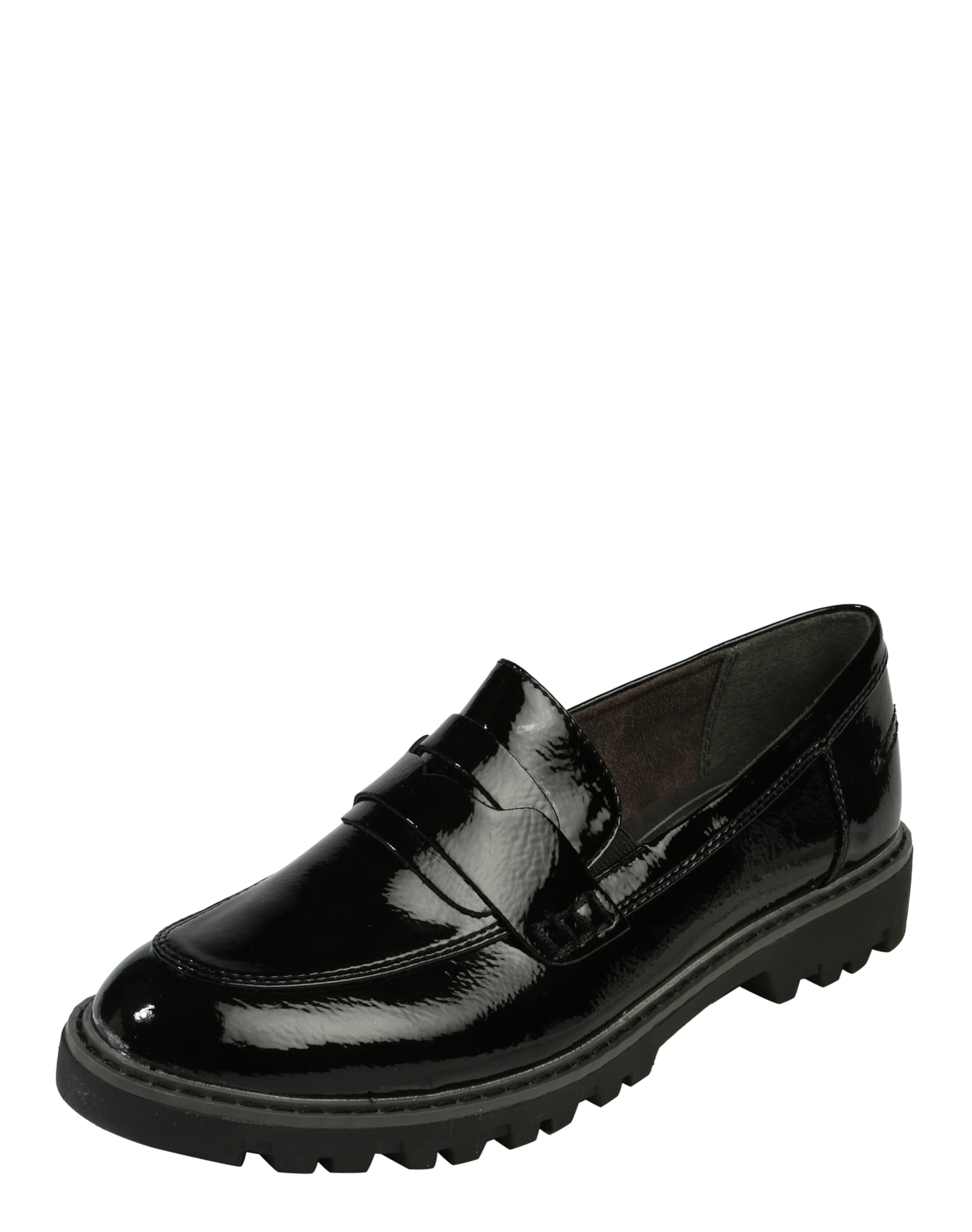 TAMARIS Loafer in Lack-Optik Verschleißfeste billige Schuhe
