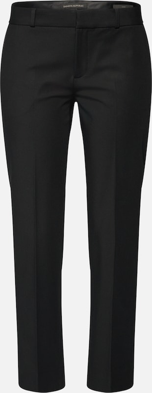 Pant' Pantalon 'avery Stretch Solid Bi En Republic Banana Noir 0Nvnwm8