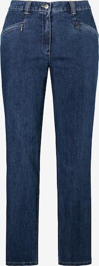 Ulla Popken Jeans 'Mony N' in de kleur Blauw denim, Productweergave