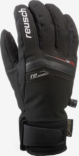 REUSCH Skihandschuhe 'BRUCE' in schwarz, Produktansicht
