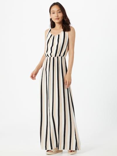 Hailys Kleid 'Doris' in beige / schwarz / weiß, Modelansicht