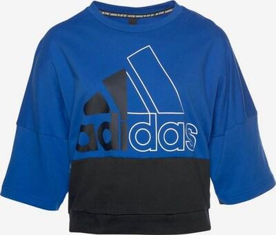 ADIDAS PERFORMANCE T-Shirt in blau / marine / weiß, Produktansicht