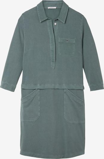 Sandwich Kleid in smaragd, Produktansicht