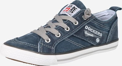 Dockers by Gerli Sneaker in blue denim, Produktansicht