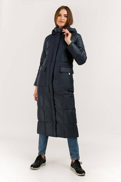 Finn Flare Wintermantel in de kleur Blauw, Modelweergave