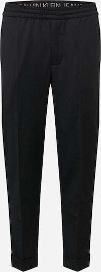Calvin Klein Jeans Pantalon à plis en noir, Vue avec produit