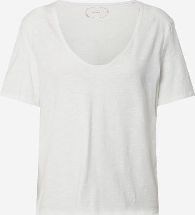 ONLY Tričko - šedobiela: Pohľad spredu