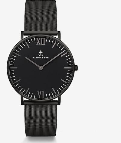 Kapten & Son Uhr in schwarz, Produktansicht