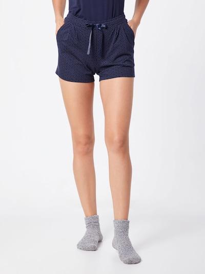 SCHIESSER Pyjamabroek in de kleur Nachtblauw: Vooraanzicht