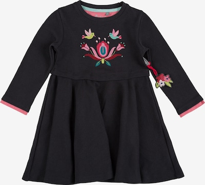 SIGIKID Sweatkleid in rosa / rot / schwarz, Produktansicht
