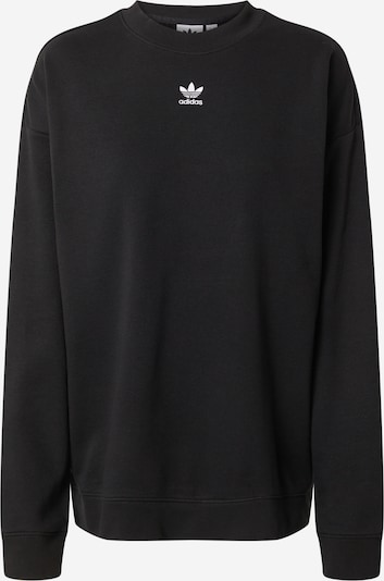ADIDAS ORIGINALS Sweatshirt 'Trefoil Essentials' in schwarz, Produktansicht