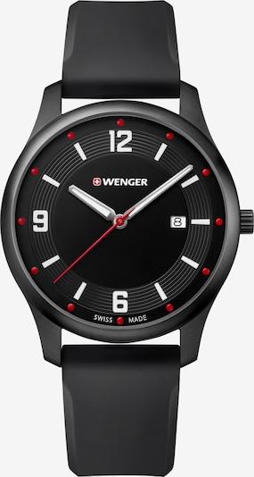 WENGER Analoog horloge 'City Active' in de kleur Zwart, Productweergave
