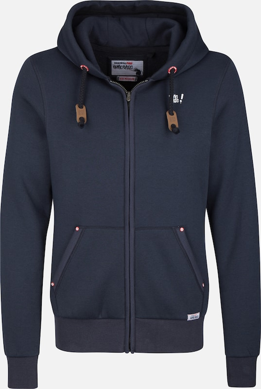 HOMEBASE 'Brandalised' Sweatjacke