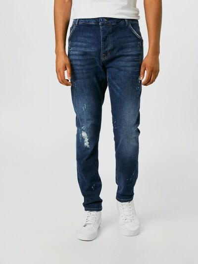 Jeans 'NECKARAU' Goldgarn pe denim albastru, Vizualizare model