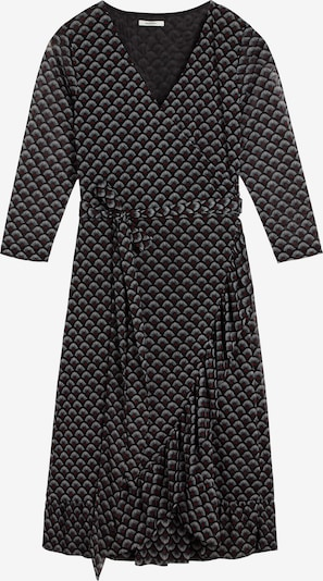 Sandwich Kleid in feuerrot / schwarz / weiß, Produktansicht