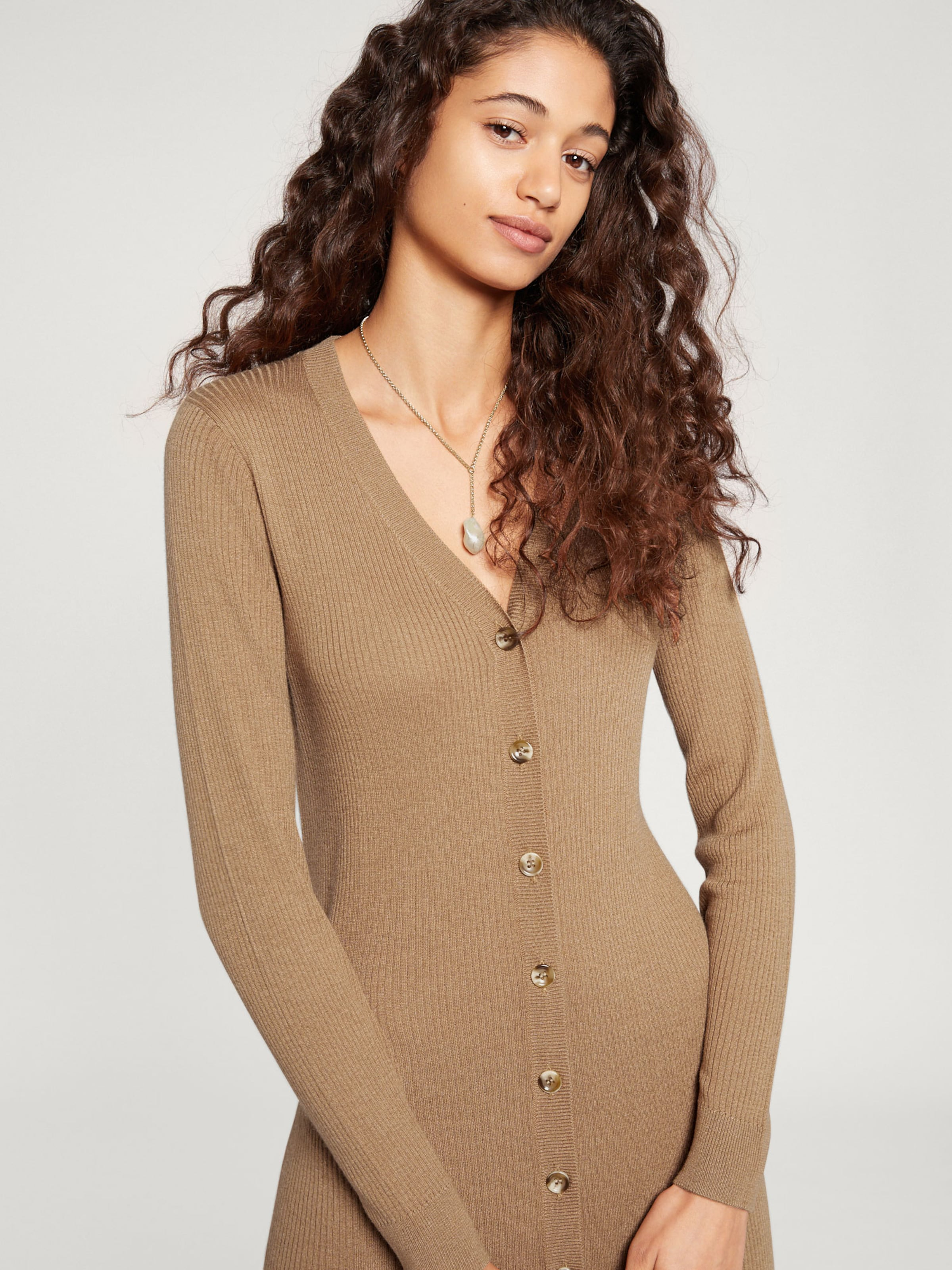 'lora' Robes Edited En Maille Camel xrdCBoe