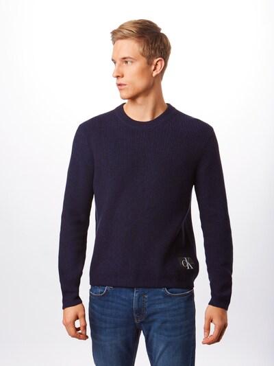Calvin Klein Jeans Sweter w kolorze ciemny niebieskim: Widok z przodu