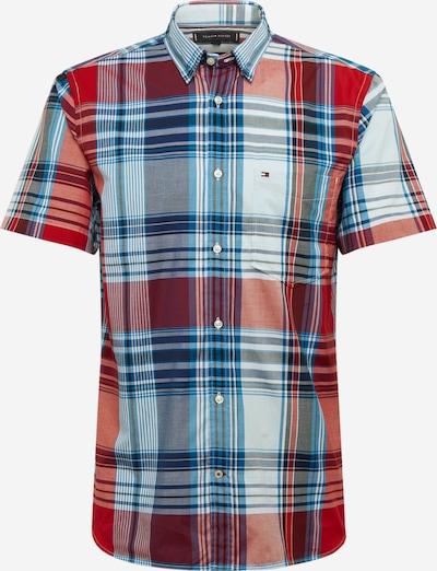 TOMMY HILFIGER Košeľa 'Madras' - nebesky modrá / červené, Produkt