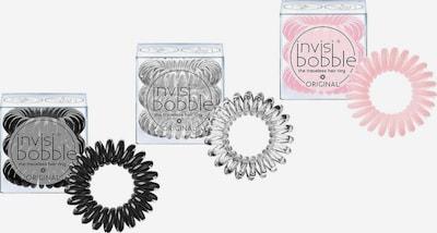 Invisibobble Spiral-Haargummi in rosa / schwarz / transparent, Produktansicht