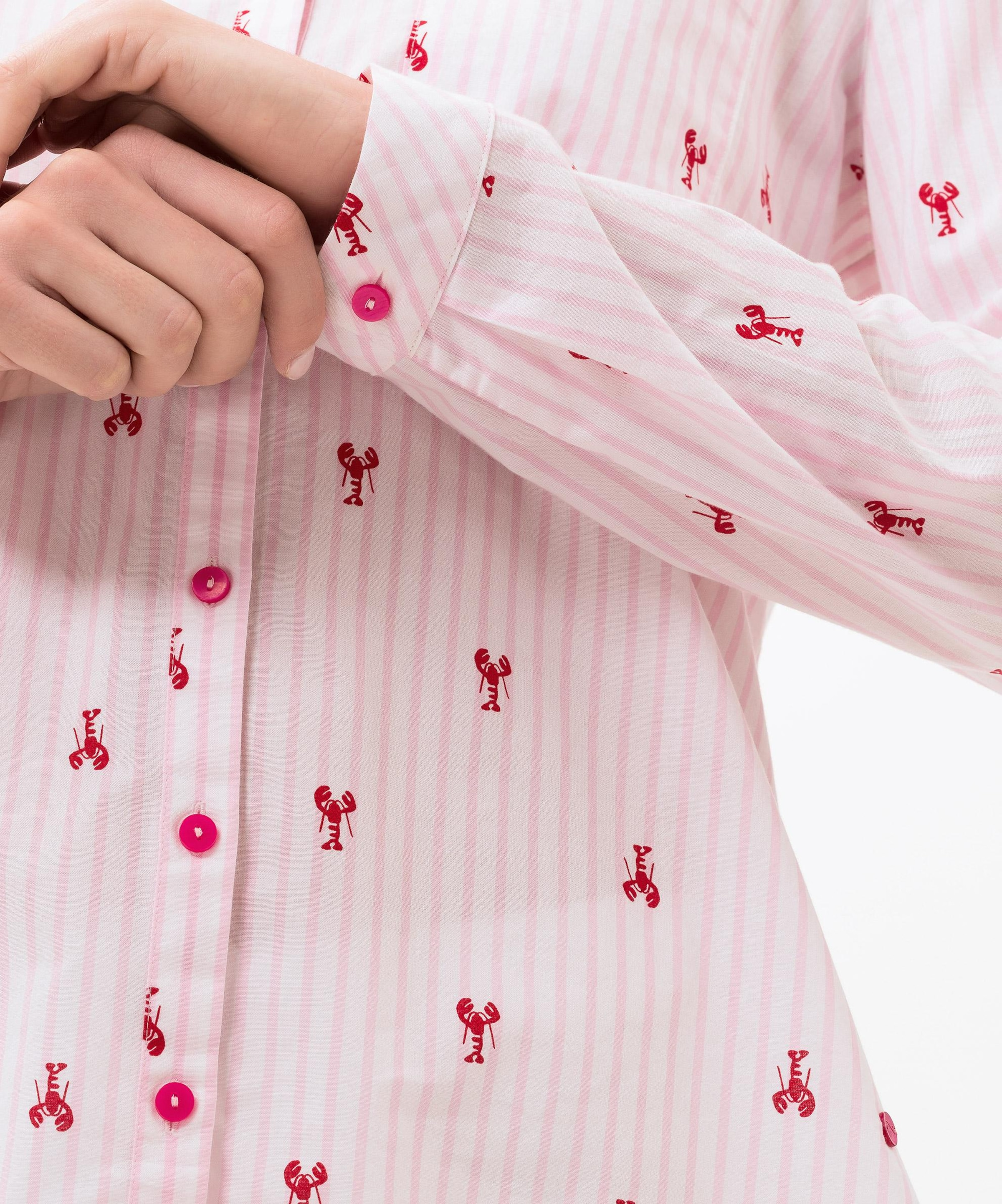 Weiß Bluse In Brax 'velia' RosaCranberry y0nNwOmv8P
