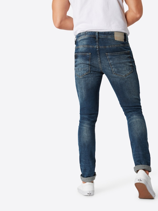 Tom Bleu Denim En Tailor Jean 'culver' b7vf6Ygy