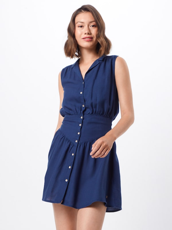 ROXY Kleid 'SHINY NIGHT' in navy, Modelansicht